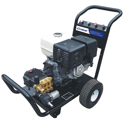 Outdoor mobile Honda gasoline engine drive cold water high pressure cleaner CW-GC25